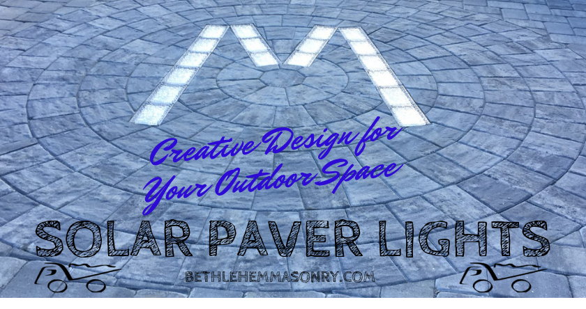 solar paver lights