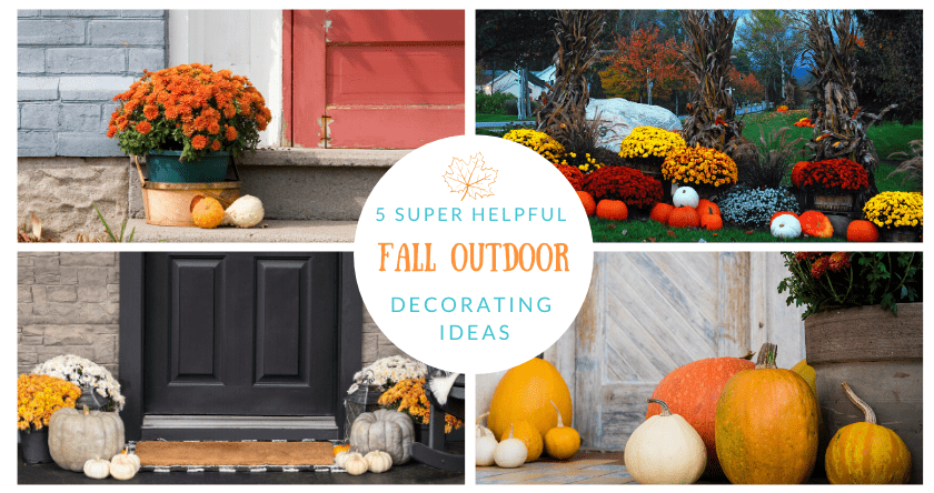 5 Super Helpful Fall Landscaping Ideas For Outdoor Decorating